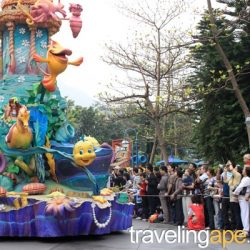 HongKong Disney, Little Mermaid float