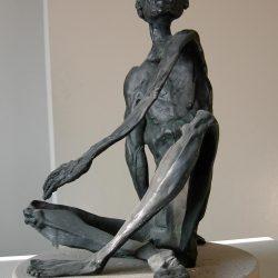 Marsius, personal bronze sculpture